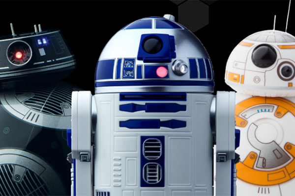 Sphero reveals new Star Wars R2-D2 and BB-9E bots