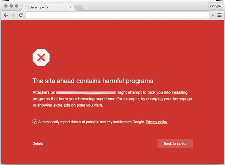 Malware Attack Notification